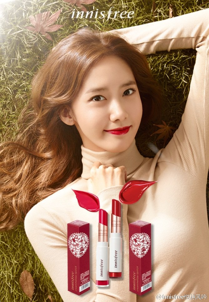 """SNSD Yoona for """"innisfree"""" Promotion https://t.co/nzADEwc8Vf"""
