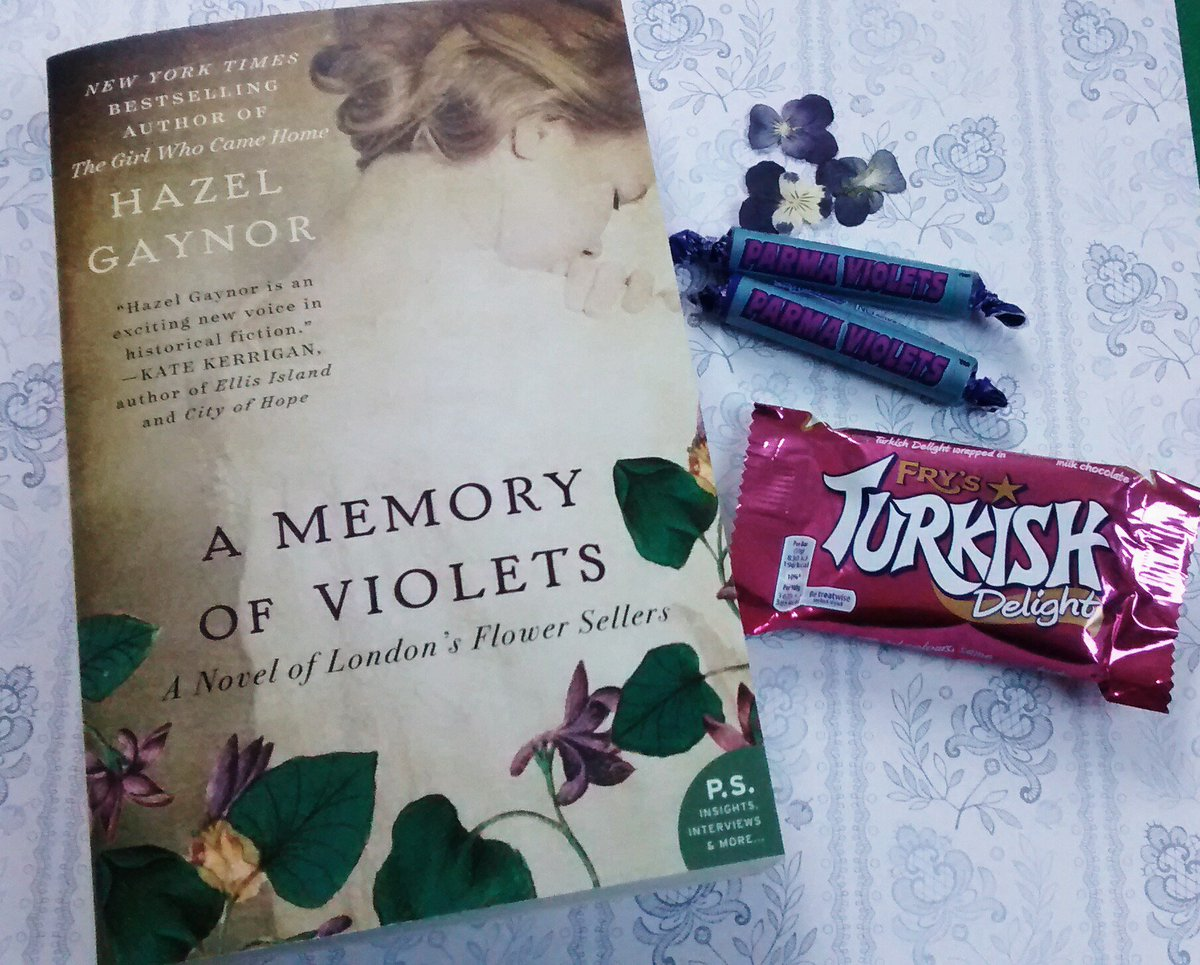 Turkish delights! A Memory of Violets is to be published in Turkey. Yippee! #TuesNews @RNAtweets https://t.co/sF6mNm4336