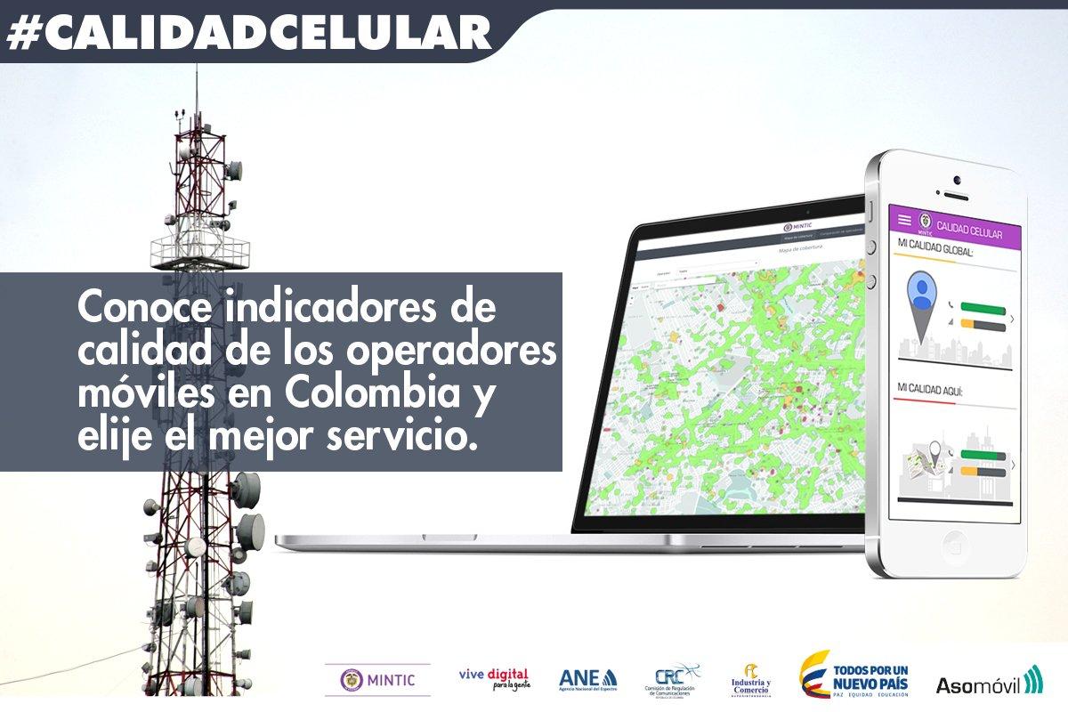Los operadores móviles deben garantizar un buen servicio. Conoce más de #CalidadCelular https://t.co/mlJ16BL6P4 https://t.co/Ymt6tIbyIA