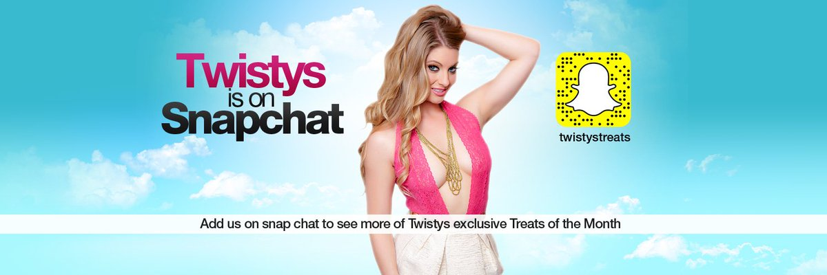 I cant wait to take over #twistys #snapchat for #TOTM on Friday! don't miss it :) wxrR