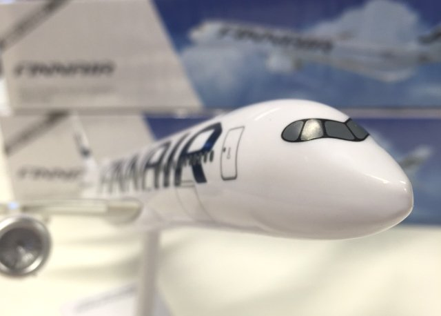 Still few hours left to participate in a lucky draw for A350Finnair scale model