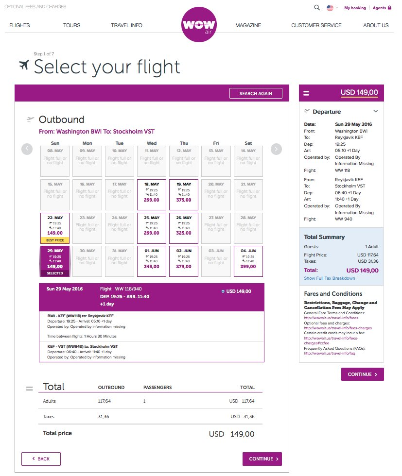 RT @airfarewatchdog: From @wow_air: $149 one-ways to Stockholm from Baltimore BWI & Boston BOS for spring https:/…