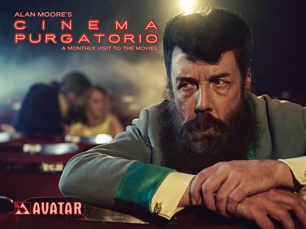 It's HERE! #AlanMoore #CinemaPurgatorio Kickstarter is live! Check this amazing project out: https://t.co/XADJElWrk8 https://t.co/weGy9CopIc