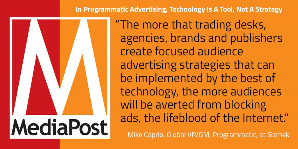 """#AdBlocking is a symptom, not the disease."" -@michaelcaprio via @MediaPost https://t.co/d8UkzkHcrq #AdTech https://t.co/THxvNdhdcT"