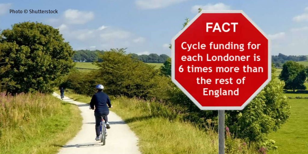 We think government should provide #funding4cycling in rural areas as well as cities – do you? https://t.co/3bK0blryps