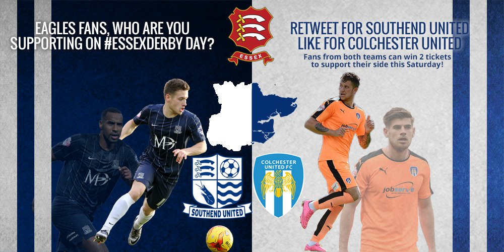 Who are you supporting in #EssexDerby? RT for @SUFCRootsHall or Like for @ColU_Official to enter competition! https://t.co/zchswlqpwh