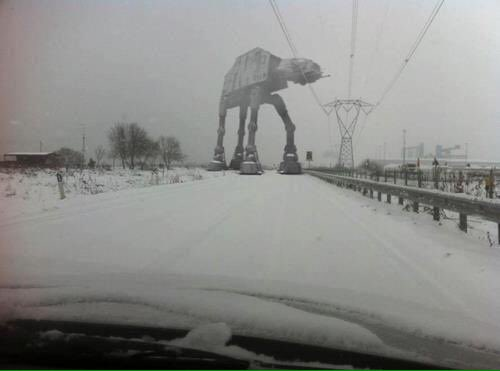 Roads are treacherous today. Stay safe https://t.co/8ONzMuDfsn