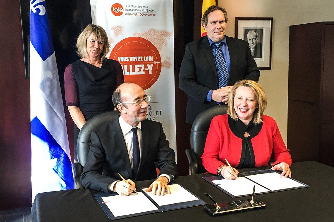 simplification admin. pour améliorer la mobilité des étudiants entre la FWB et le Québec >  https://t.co/ddod977yx2 https://t.co/9KVdg8IzyH