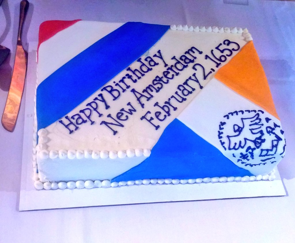 Happy Birthday #NYC!!! #NewAmsterdam https://t.co/Kb6QPAJpYH