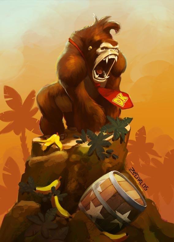 Donkey Kong par zecarlos #nintendo https://t.co/ljGoIzXjeR