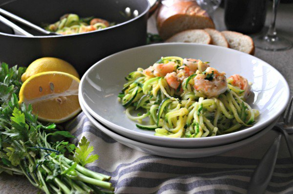 One Pot Zoodle Shrimp Scampi made in just minutes! https://t.co/2WZzGb1lig https://t.co/walsXYjy7a