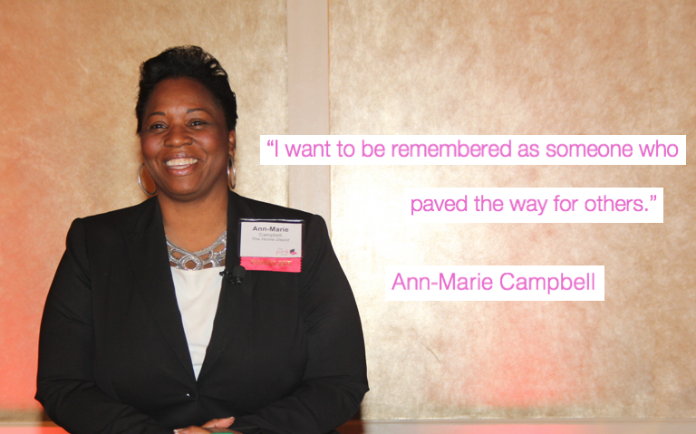 A picture of Home Depot leader Ann-Marie Campbell brightening up PINK's Fall Empowerment Event panel!! @HomeDepot https://t.co/ReiISFklfE