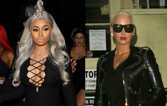 Amber Rose and Blac Chyna were apparently throwing