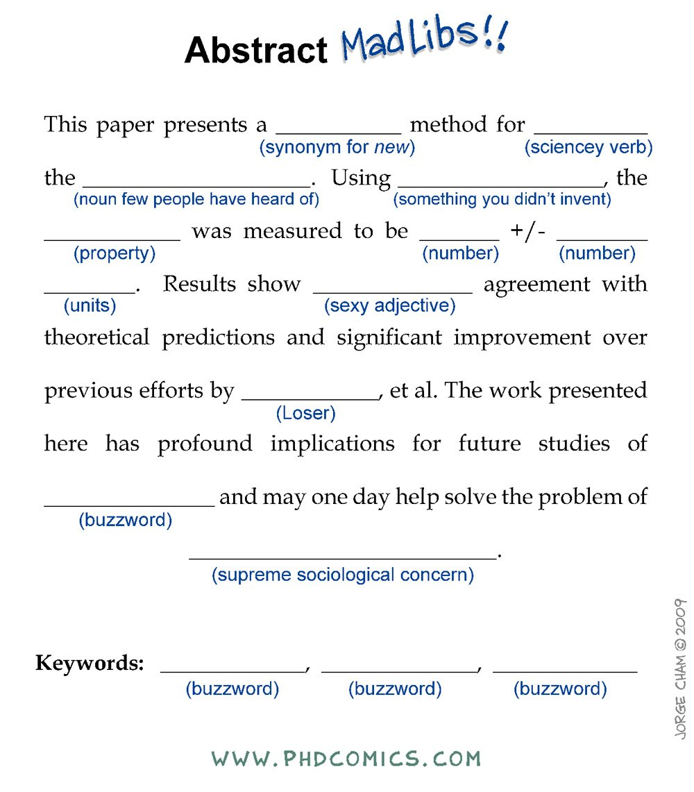 How to write an abstract https://t.co/3x2vaaXION https://t.co/GqerpbCKtl