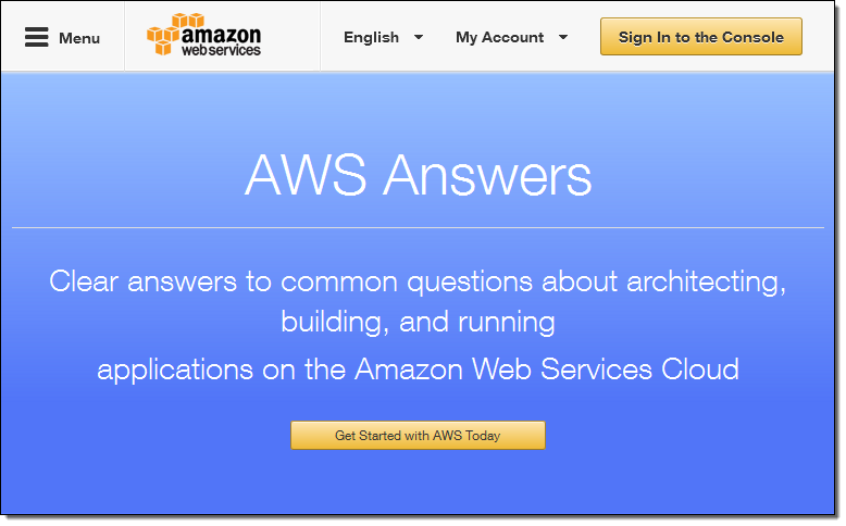 New: https://t.co/RnwULI4l2s - Clear answers to common questions about architecting, building, & running on #AWS https://t.co/HElsY9CFcQ