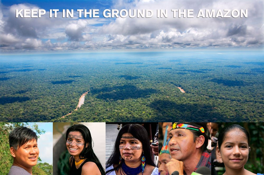 Just a few days left to help me #KeepItInTheGround: https://t.co/GPa9L2OxP4 @AmazonWatch https://t.co/RTqoazfhA9