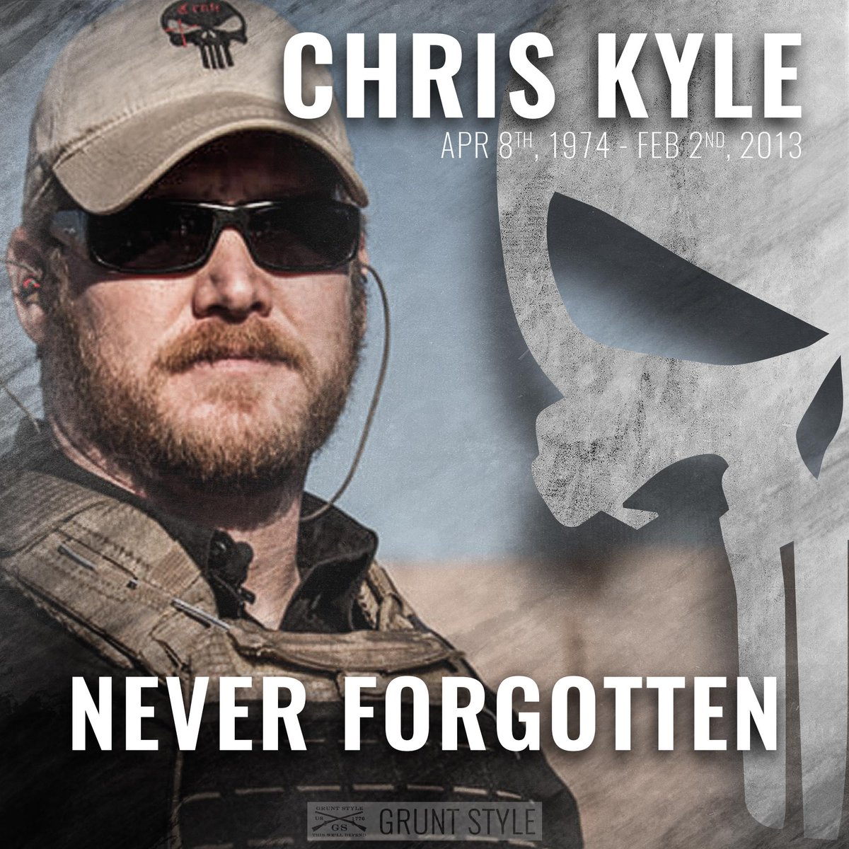 Lest We Forget, #ChrisKyle #NeverForget https://t.co/dqjaGiIKZ3