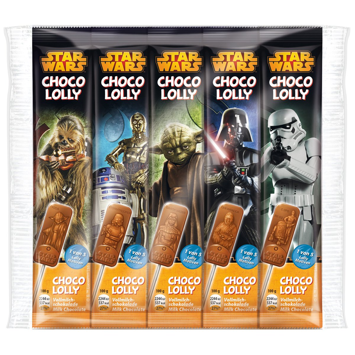 starwars choco lolly