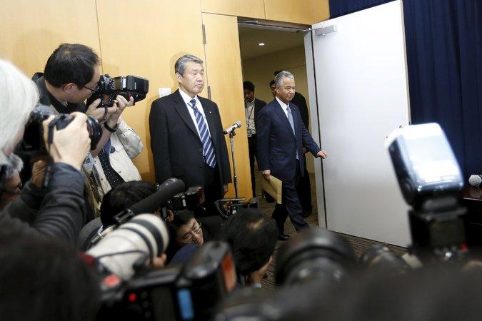 Menteri Ekonomi Jepun Akira Amari resign selepas mengaku ambil derma USD8,400. Menteri 2.6 bila lagi? https://t.co/4JAlz3CYQx