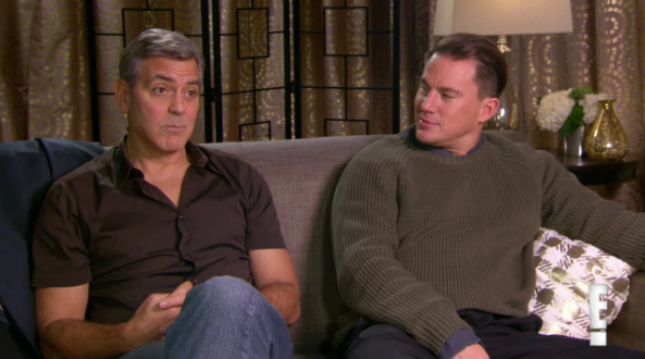 This is what happens when George Clooney and Channing Tatum interview each other: