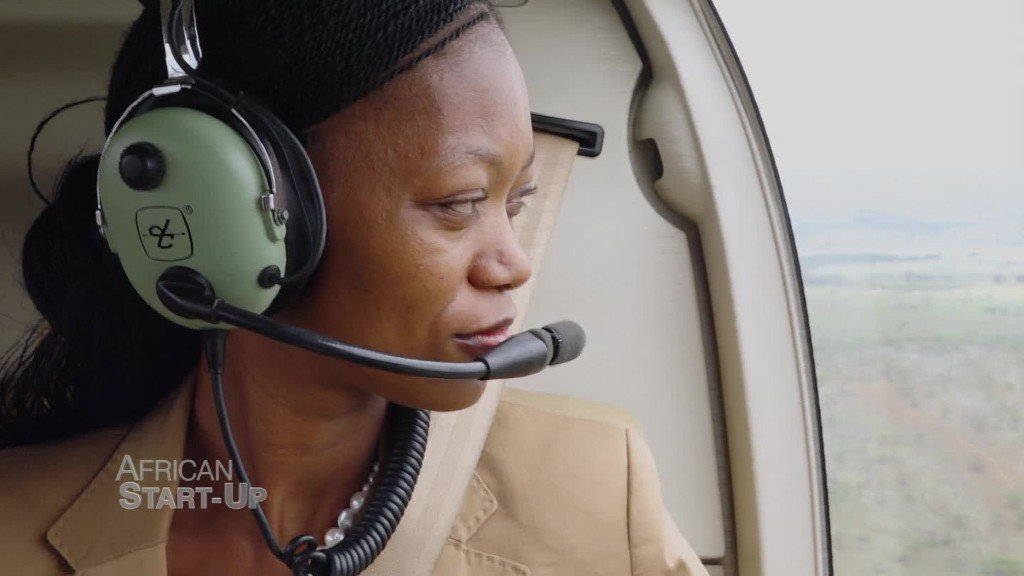 Meet Sibongile Sambo. The rejected flight attendant who started her own aviation company