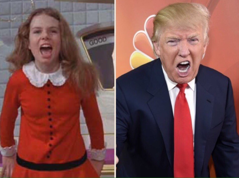 Want to feel old? This is what Veruca Salt looks like today https://t.co/YIRDOCmrrc