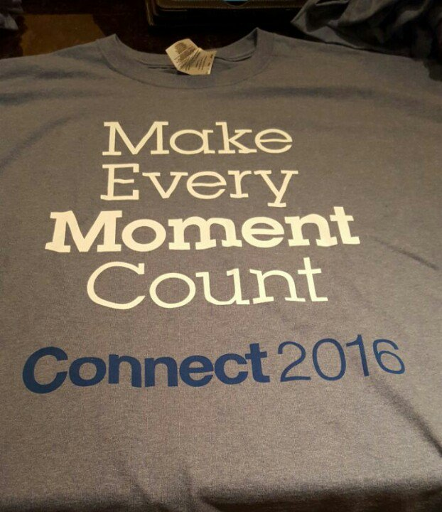 T-shirts are back fill out your overall conference evaluation and pick one up #IBMconnect https://t.co/wefaF8NuCW