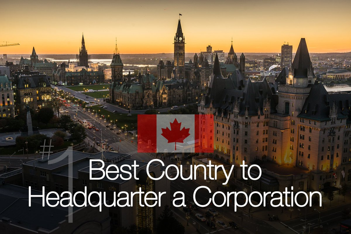 Canada was ranked the #1 best country to HQ a corporation by @usnews #WhyOttawa #WhyCanada https://t.co/iGwAGoGl7W https://t.co/w1wA6GSFER
