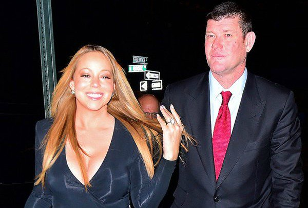 Mariah Carey's 35-carat engagement ring stole the show at her Las Vegas concert:
