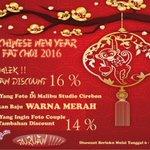 PROMO IMLEK! Dapat disc 16%, foto di @malibu62Cirebon menggunakan baju WARNA MERAH 6-29 Feb 2016 CP 0851 0533 0006 https://t.co/kN455CVGpt