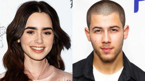Hold up... Is Nick Jonas dating Lily Collins?