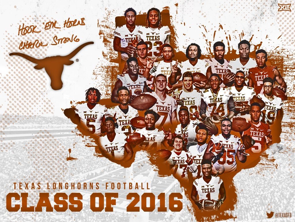 Excited to welcome the Class of 2016 to the Longhorn Family! #LetsRide #Believe https://t.co/1mguuTaNVe