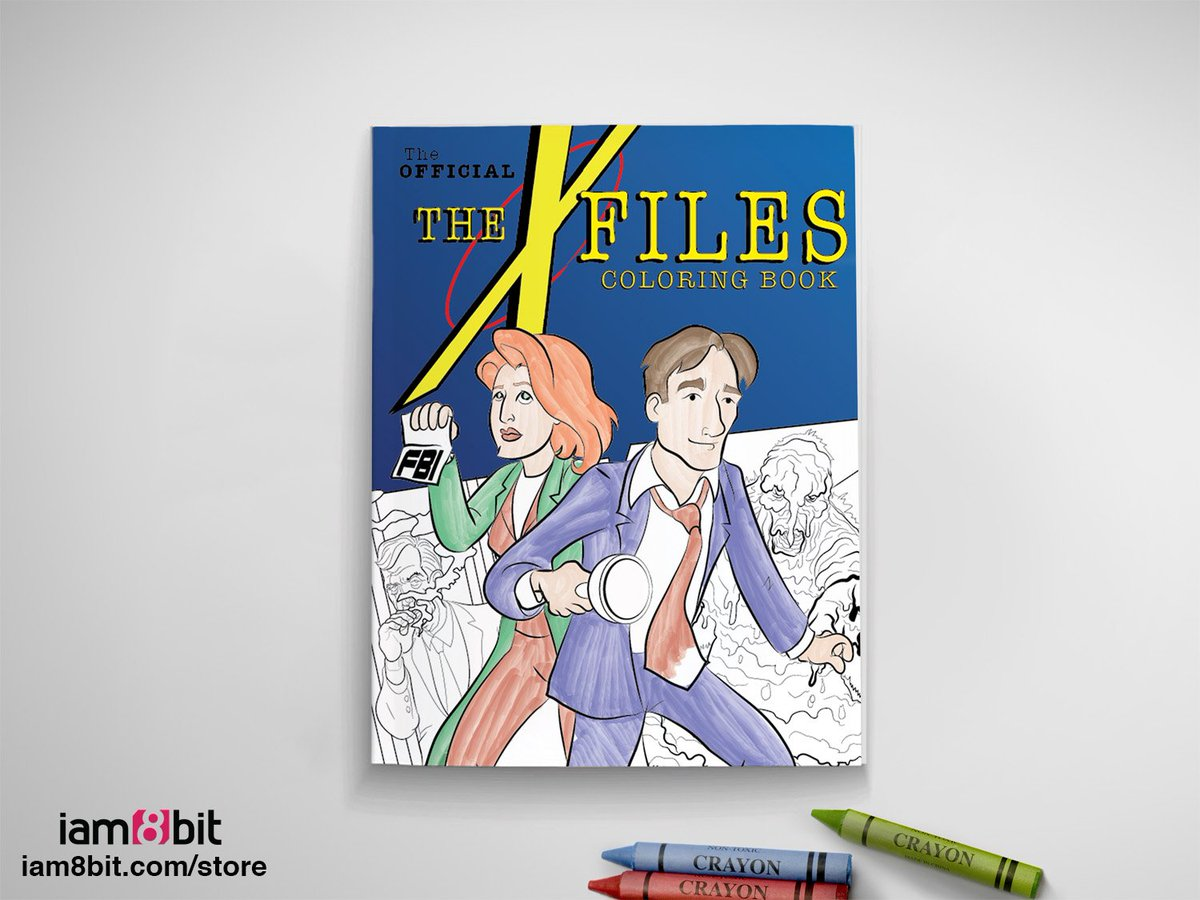 Yes, the rumors are true! We made an #XFiles Coloring Book. Better sharpen those crayons. https://t.co/0HLdLiovDk https://t.co/PrUaud90u8