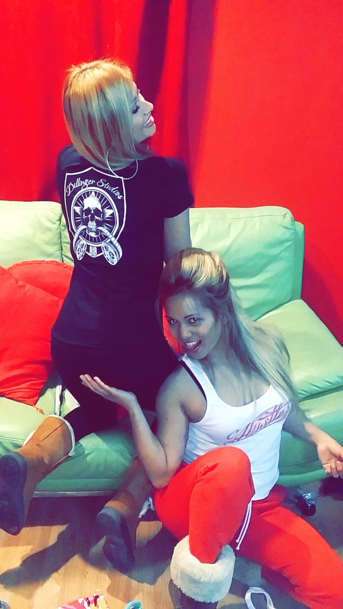 RT : Only bad bitches at world famous Dillinger Studios818 check them both out on