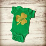 St. Patricks Day Pregnancy Announcement https://t.co/xqAbOD6aAf  https://t.co/wGvBsvK3Xw #babyfashion #handmade  #promomyshop
