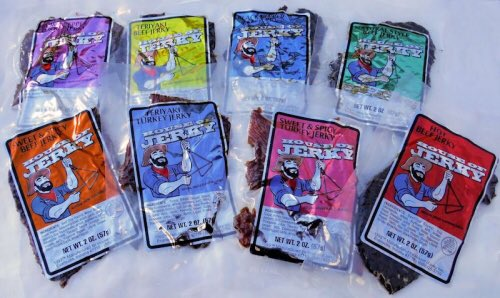 Valentine's Day Giveaway. #Jerky! Beef & Turkey Jerky variety.  RT to enter. RT to win! #HOJ https://t.co/tCGEu9cjoz