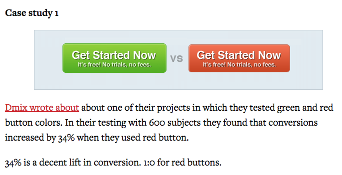 A red button converts 34% better than a green button. https://t.co/1P8SlWAkjl https://t.co/nVGT8lhZrh