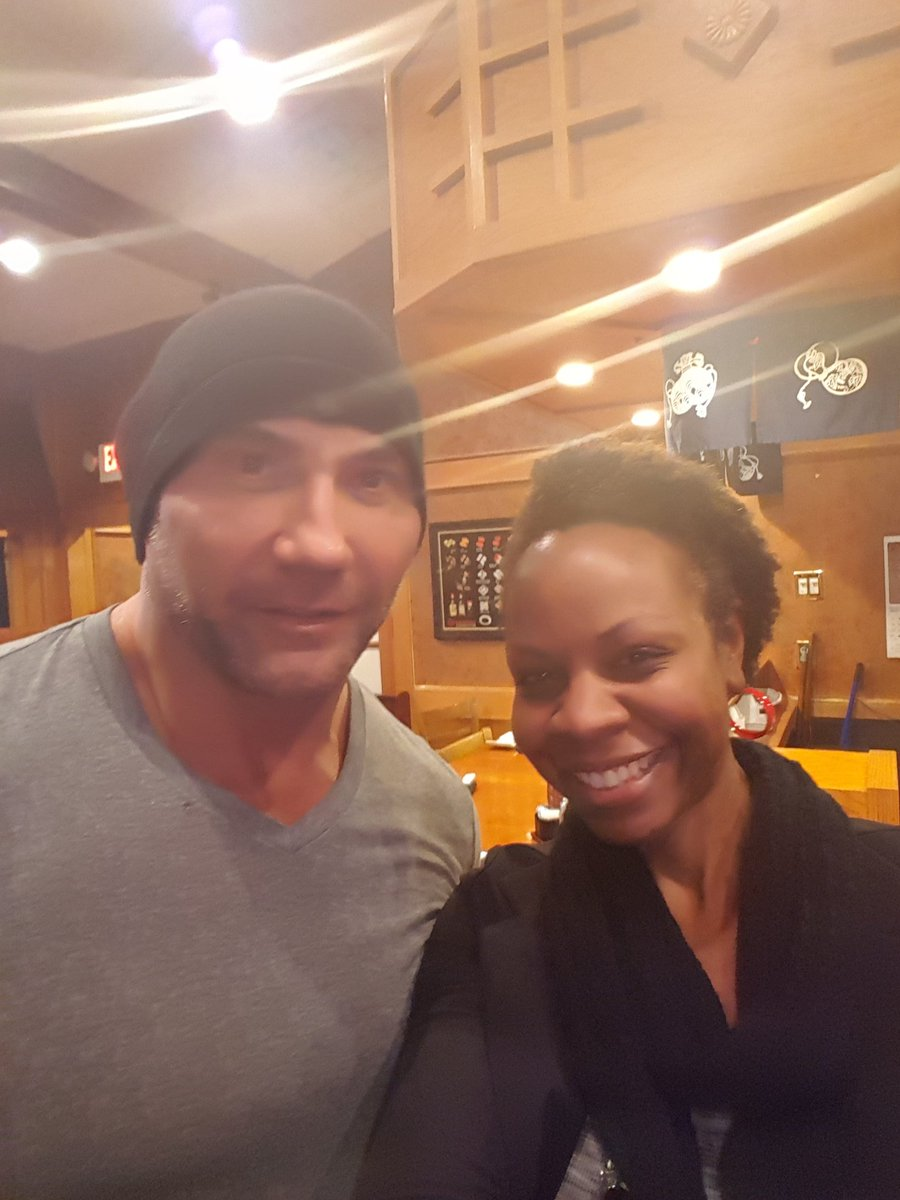 Thank you @DaveBautista you're awesome!!!! https://t.co/s5Wj2GiNxX