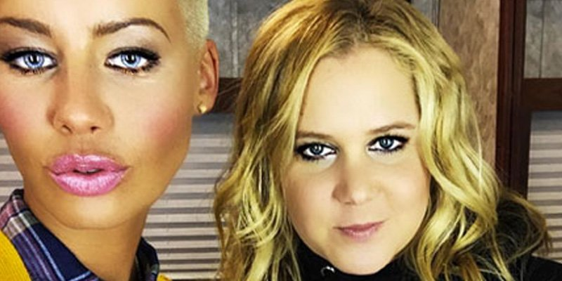 Amber Rose teams up with 'my Bae' Amy Schumer again for new sketch