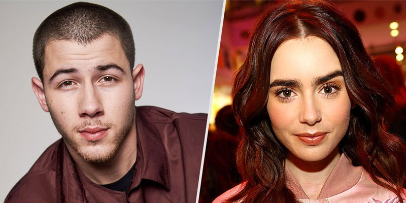 Nick Jonas and Lily Collins are casually hanging out - 'they like each other,' says source
