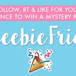 Want to WIN a mystery prize? Just FLW, RT & LIKE for your chance to WIN! #FreebieFriday 🎉 https://t.co/CeGnWq0pPn
