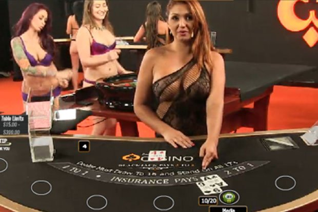 pornhub casino video