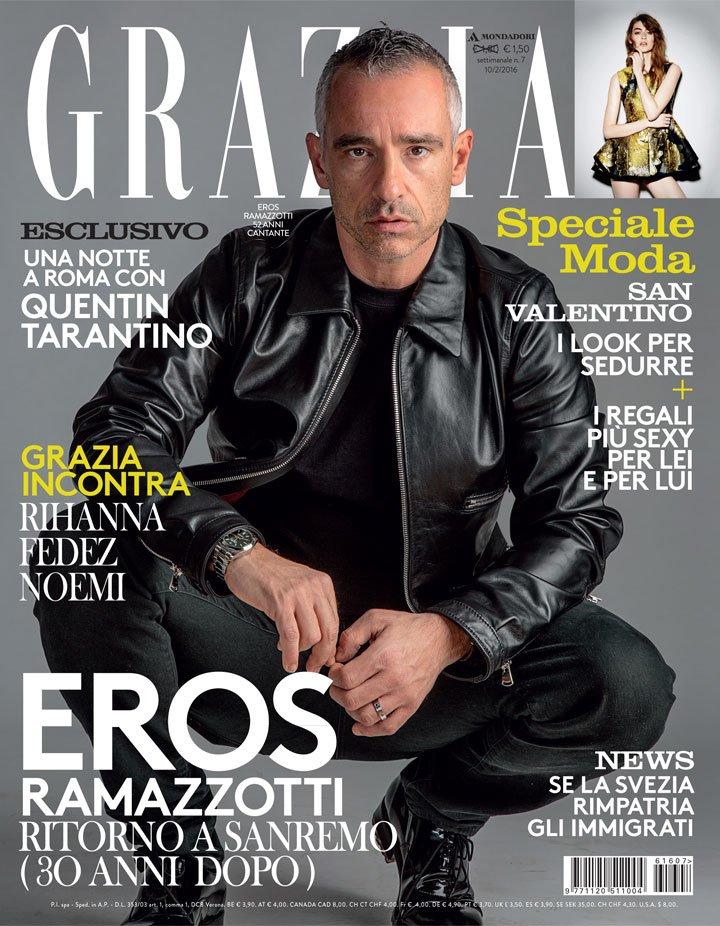 Intervista a @RamazzottiEros su #Grazia con le vostre domande Correte in edicola e scoprite se Eros vi ha risposto. https://t.co/mgW69DRQ1V