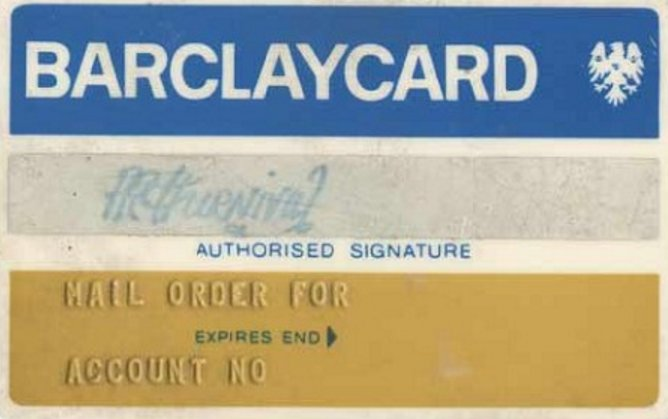 The very first UK #CreditCard was issued 50 years ago #TBT #banking #ConsumerSpend https://t.co/SmoF5MSlkZ