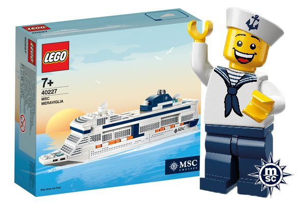 Captain your own MSC cruise ship with #Lego sets now available on board MSC Fantasia and MSC Preziosa! https://t.co/d3natmplfn