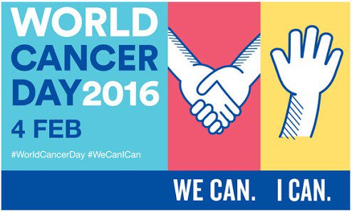 We stand in solidarity with @UICC for #WorldCancerDay today. https://t.co/FGS2dxftVE