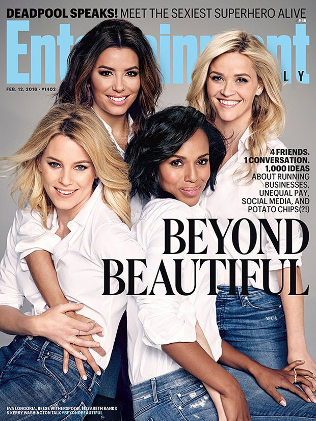 Why Entertainment Weekly's Beyond Beautiful photo is beyond belief Photo: EW