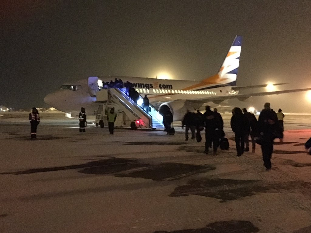 Flying back home from Khabarovsk with 8 points! #VerniSlovanu @khl https://t.co/OmOiCYgEEh