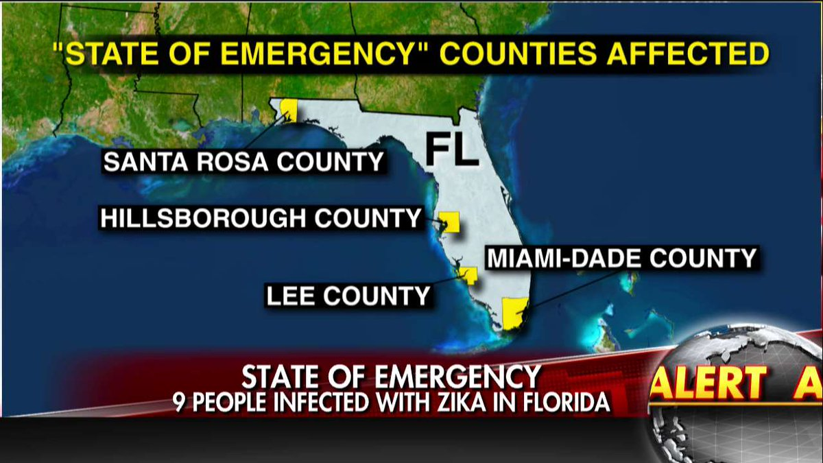 Zika Is Back in Florida