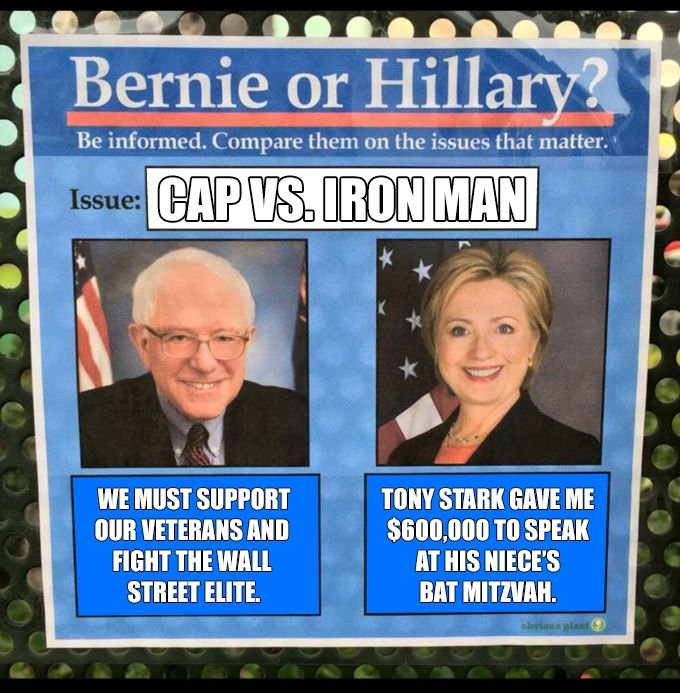 Bernie vs. Hillary: Civil War https://t.co/GDREIBrY0W